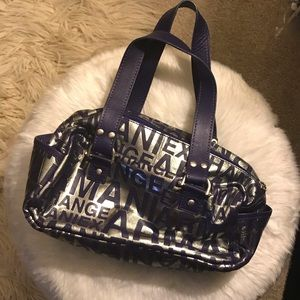 NEW LISTING - Purple & Silver AX Shoulder Bag